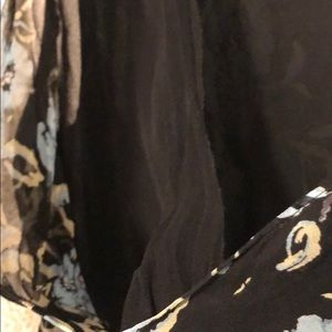 Alfani Tops - Blue and black floral blouse